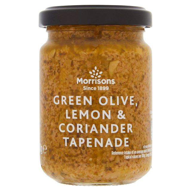 Morrisons Green Olive, Lemon & Coriander Tapenade