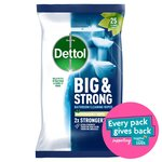 Dettol Big & Strong Bathroom 25 Wipes