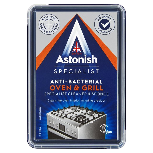 Astonish Specialist Oven & Grill Cleaner & Sponge 250G