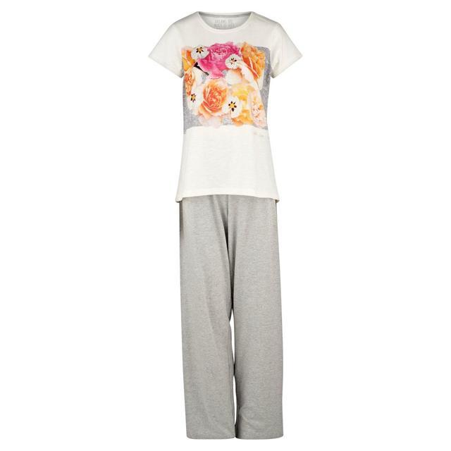 9b2cd8c3ee20 Morrisons: Nutmeg Women's Floral Photographic Pyjamas (Product ...