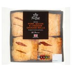Morrisons The Best Pork Cheese & Bacon Sausage Rolls