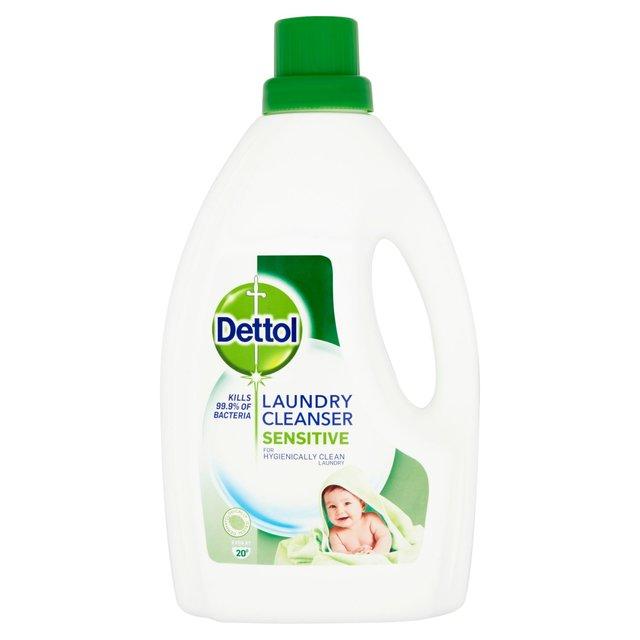 Dettol Anti Bacterial Laundry Cleanser Sensitive 1 5l