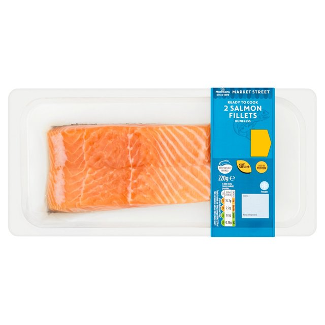Morrisons Market St Salmon Fillets