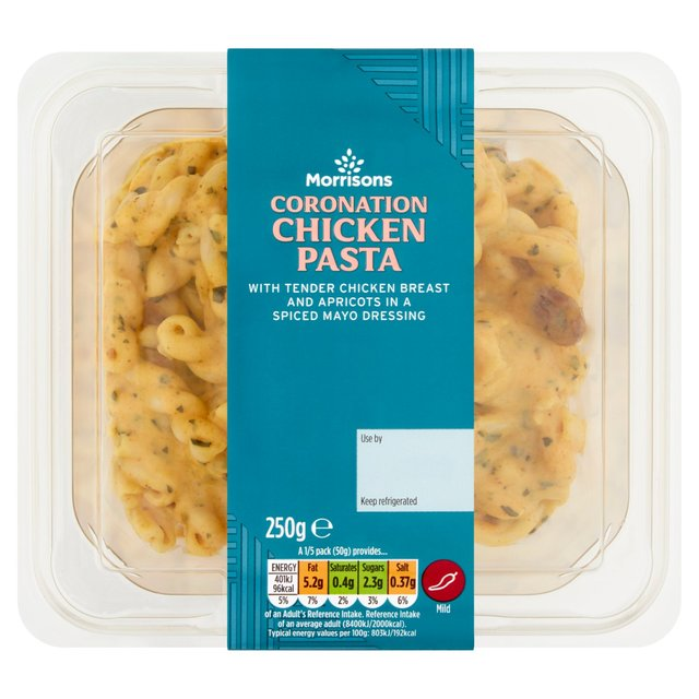Morrisons Coronation Chicken Pasta