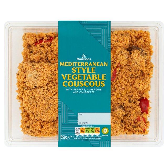 Morrisons Mediterranean Vegetable Couscous