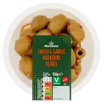 Morrisons Chilli & Garlic Halkidiki Olives