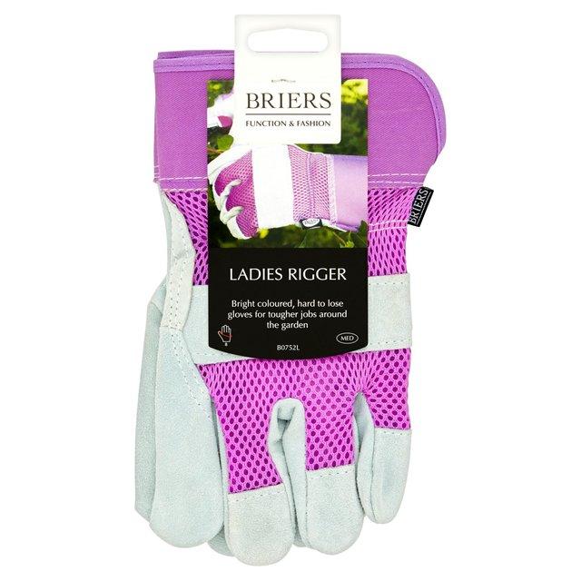 Morrisons Ladies Pink Rigger Gloves