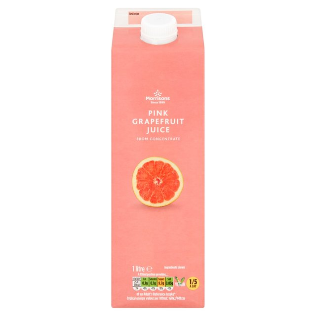 Morrisons Pink Grapefruit Juice