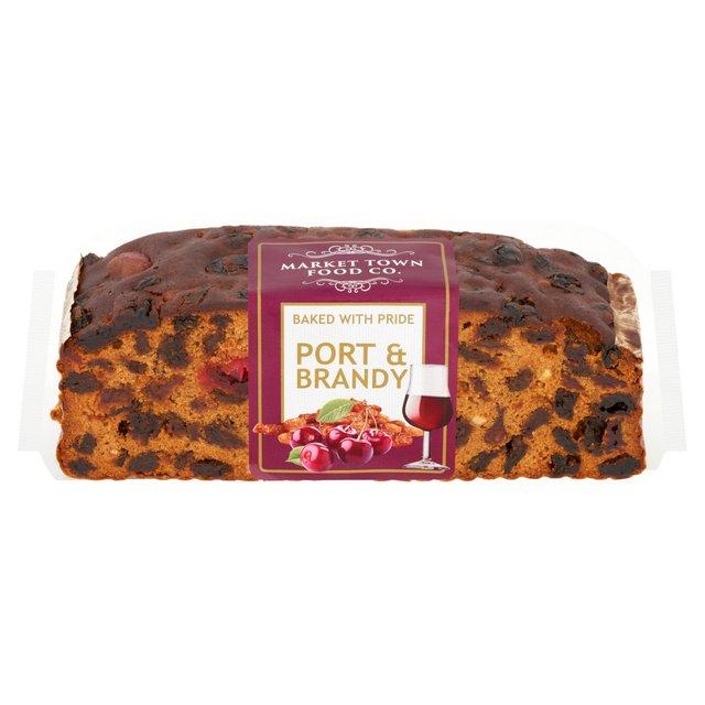 Market Town Bakery Rich Port & Brandy Cake