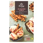 Morrisons The Best Rossini Wafer Curls 20Pk