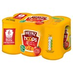 Heinz Spaghetti Hoops 6 Cans Big Family Pack