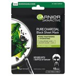 Garnier Skin Active Pure Charcoal Black Tissue Mask