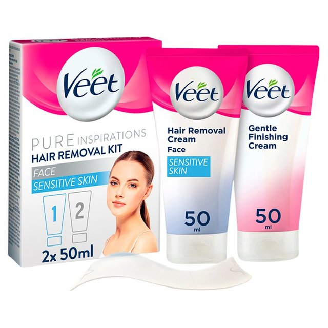 Veet Face Hair Removal Kit Sensitive Skin Morrisons