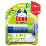 Duck Toilet Fresh Discs Holder Lime