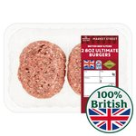 Morrisons Market St 8oz Ultimate Burgers