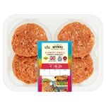 Morrisons Market St Sweet Chilli Turkey Burgers