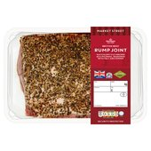 Morrisons Market St Salt & Pepper Rump Joint