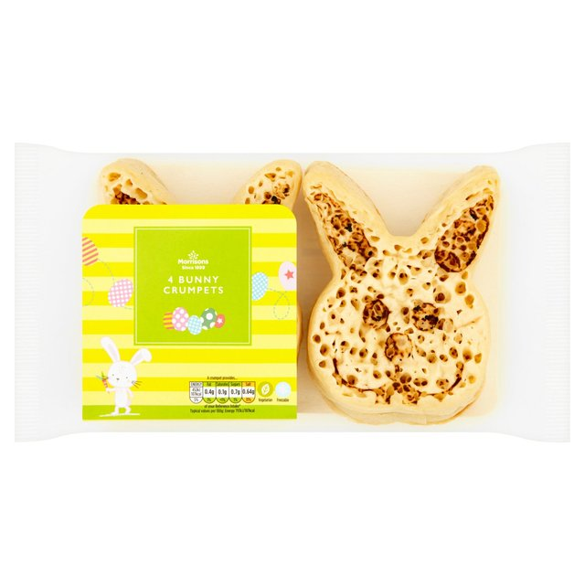 Morrisons Easter Bunny Crumpets