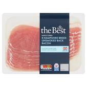 Morrisons The Best Hampshire Breed Unsmoked Maple Cured Back Bacon