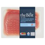 Morrisons The Best Hampshire Breed Dry Cured Unsmoked Back Bacon