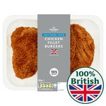 Morrisons 2 Southern Fried Fillet Burgers