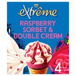 Nestle Extreme Raspberry & Double Cream Cones