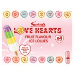 Swizzels Love Hearts Fruit Flavour Ice Lollies