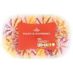 Morrisons Peach & Raspberry Ice Cream
