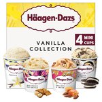 Haagen-Dazs Vanilla Ice Cream Minicups Collection