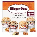 Haagen-Dazs Caramel Ice Cream Minicups Collection