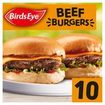 Birds Eye Original 10 Beef Burgers With Onion