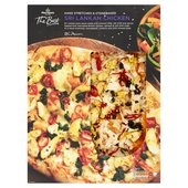 Morrisons The Best Sri Lankan Chicken Pizza