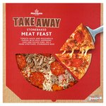 Morrisons Market St Takeaway Meat Feast Pizza 560G