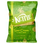 Kettle Chips Sour Cream & Sweet Onion Crisps