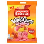 Maynards Bassetts Wine Gums Mocktails Sweets Bag