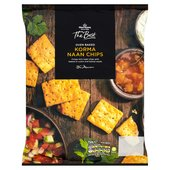 Morrisons The Best Korma Naan Chips
