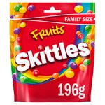 Skittles Fruits Family Size Pouch