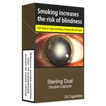 Sterling Dual Cigarettes (Double Capsule)