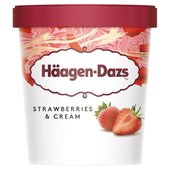Haagen-Dazs Strawberry & Cream Ice Cream