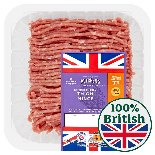 Morrisons Market St British Turkey Thigh Mince