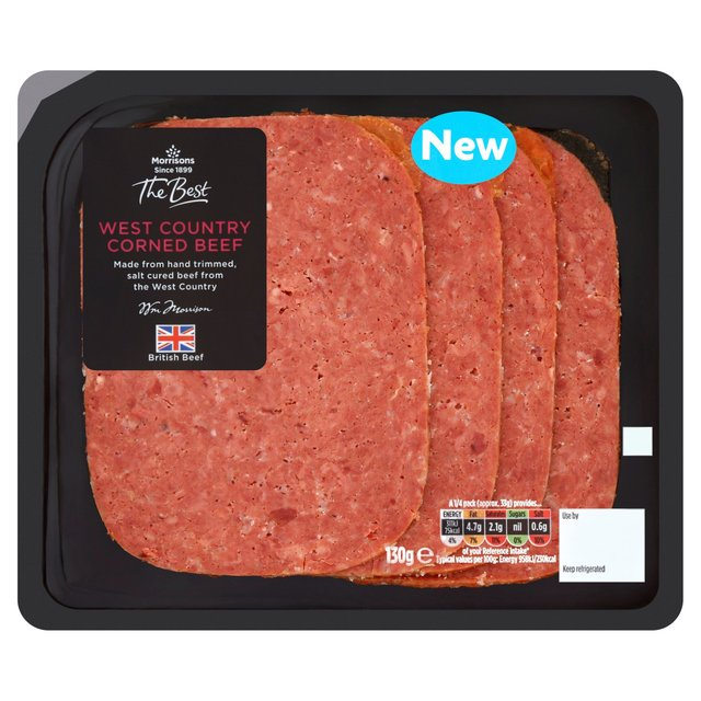 Morrisons The Best West Country Corned Beef