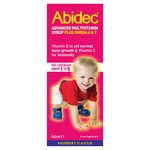 Abidec Multivitamin Syrup Raspberry