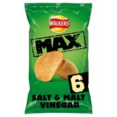 Walkers Max Salt & Vinegar Crisps