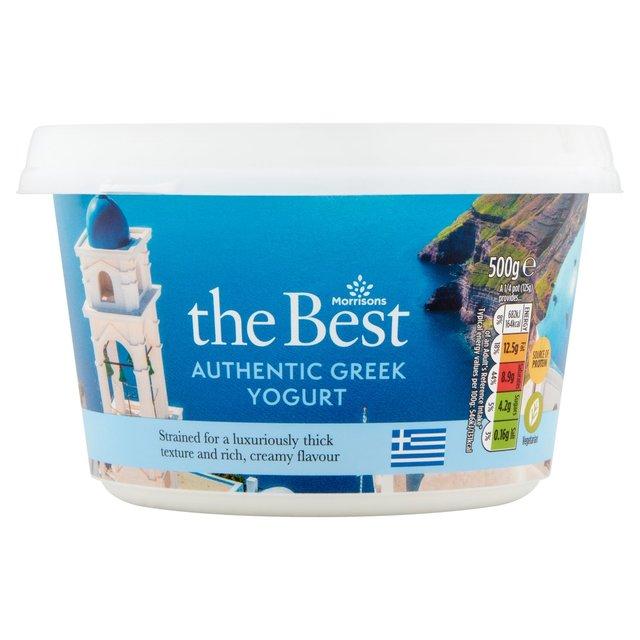 Morrisons The Best Greek Yogurt 10% Fat