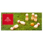Morrisons Wooden Skittle Set