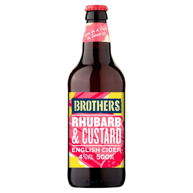 Brothers Rhubarb & Custard English Cider (Abv 4%)