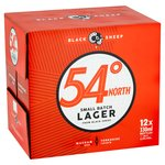 Black Sheep 54 Degrees North Small Batch Lager (Abv 4.5%)
