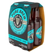 Open Gate Brewery Pure Brew Non-Alcoholic Lager (Abv 0.5%)