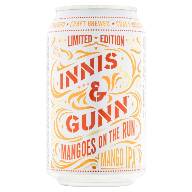 Innis & Gunn Mangos On The Run Mango Pale Ale (Abv 5.6%)