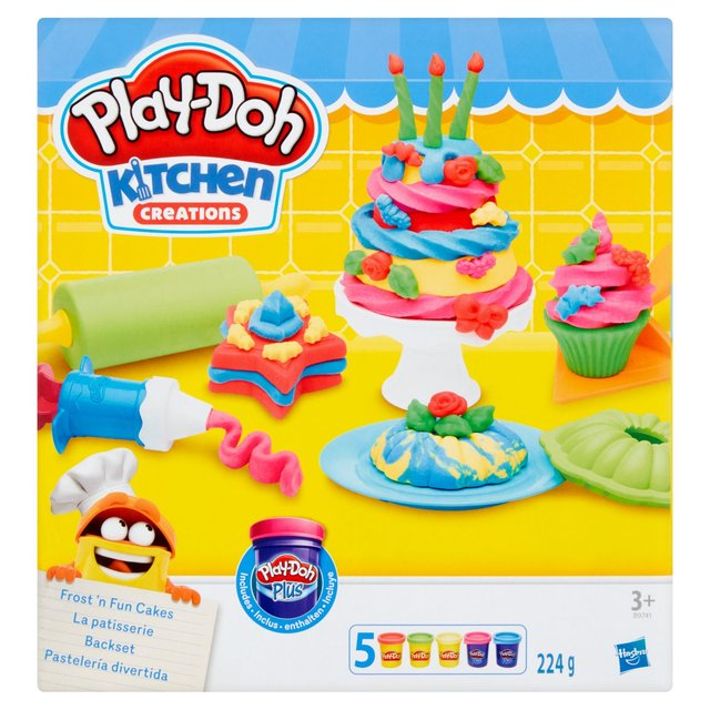 Play Doh Kitchen Creations Frost U0027N Fun Cakes